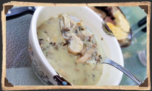 Spring Onion Mushroom Bisque 2