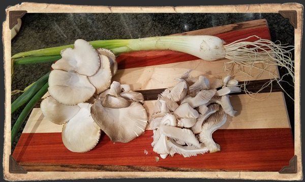 Spring Onions n Mushrooms