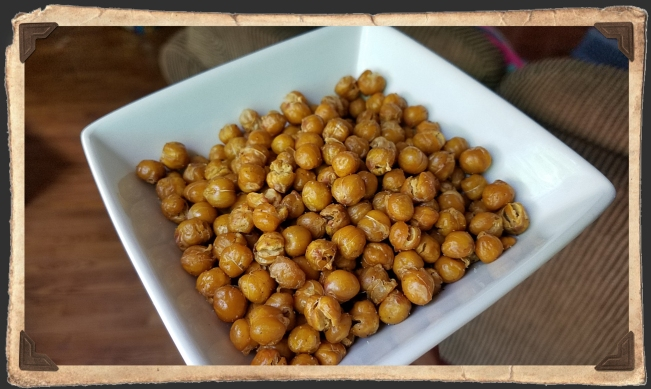 Roasted Chick Peas 1