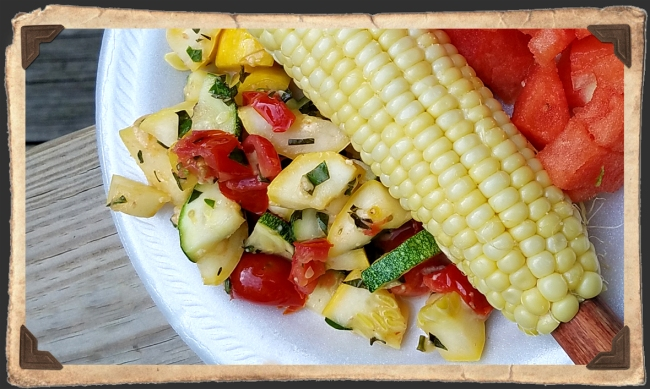 Quick Italian Style Squash Zucchini