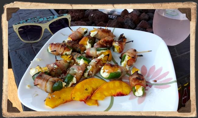 Jalapeño Peach Poppers